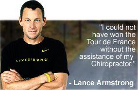 chiropractor cycling